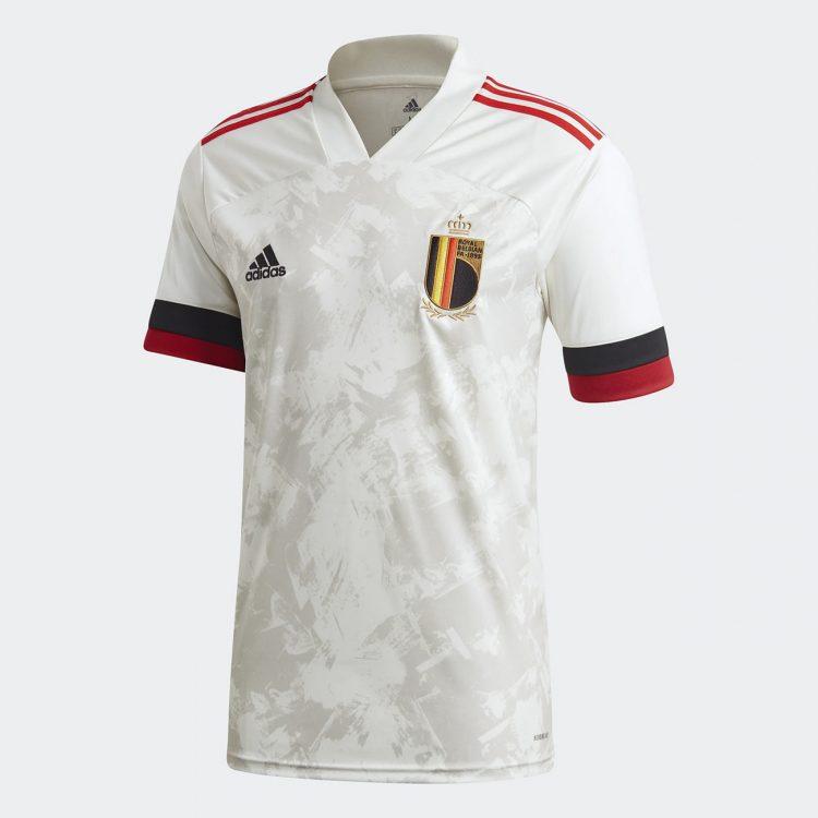 Seconda maglia Belgio Euro 2020