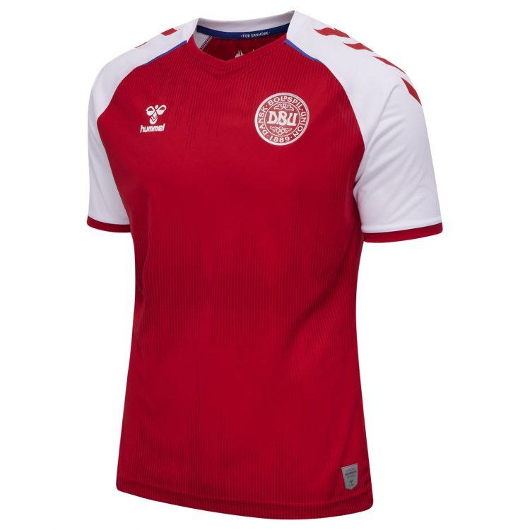 Maglia Danimarca Euro 2020 Hummel