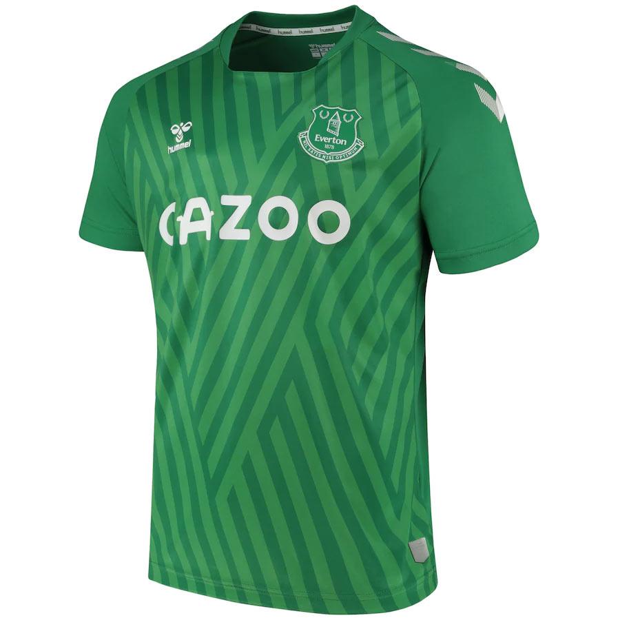 Maglia Everton away 2021-2022, torna la Black Watch