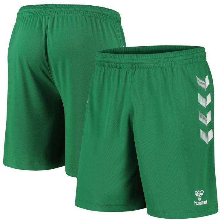 Pantaloncini portiere verdi Everton