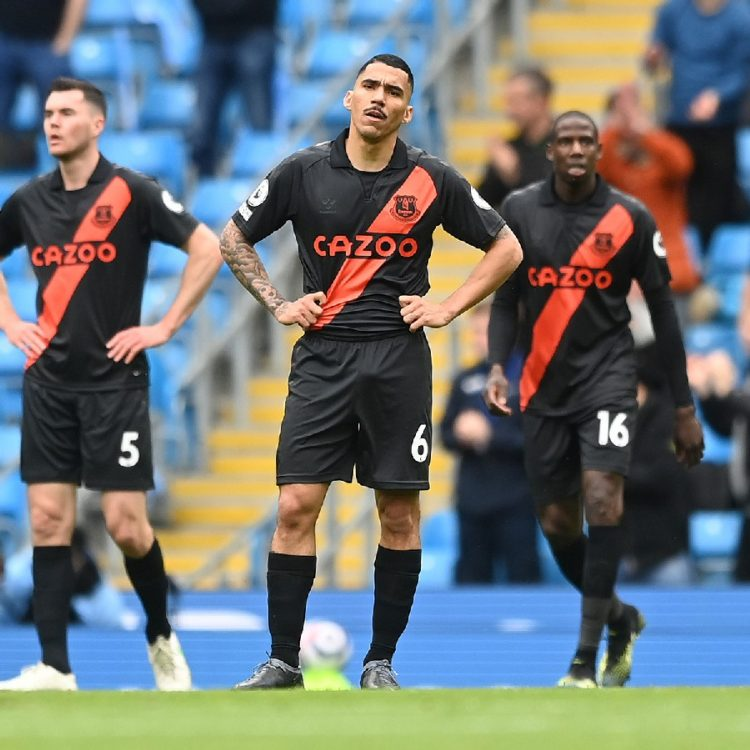 Everton trio giocatori vs Man City