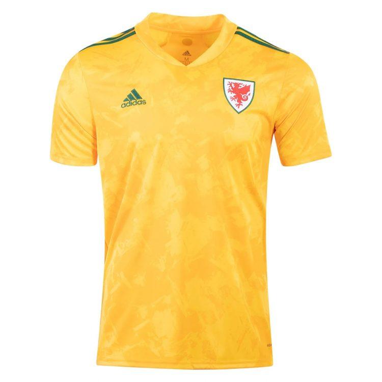 Galles seconda maglia 2020-2021 gialla