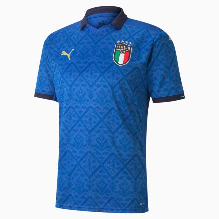Maglia Italia Euro 2020 Puma azzurra