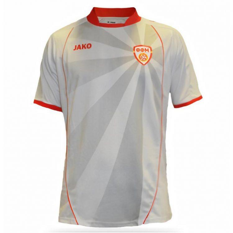 Seconda maglia Macedonia Euro 2020 grigia