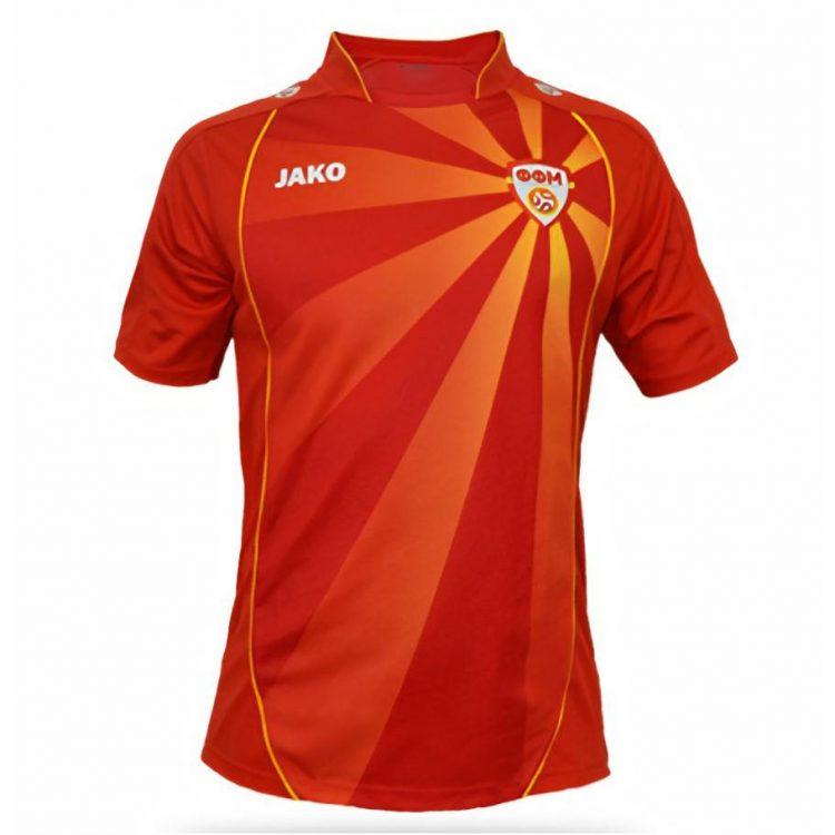 Maglia Macedonia Euro 2020