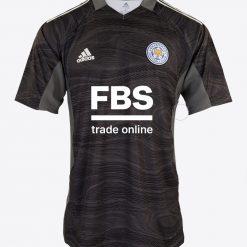 Maglia portiere Leicester nera 2021-2022
