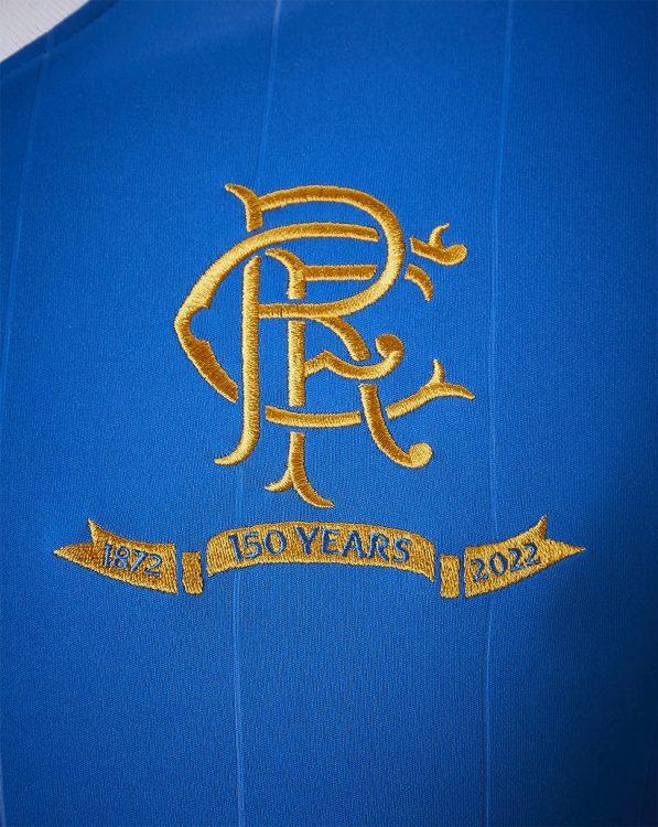 Logo Rangers 150 anni