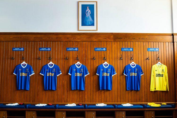 Presentazione nuova maglia Rangers 2021-22