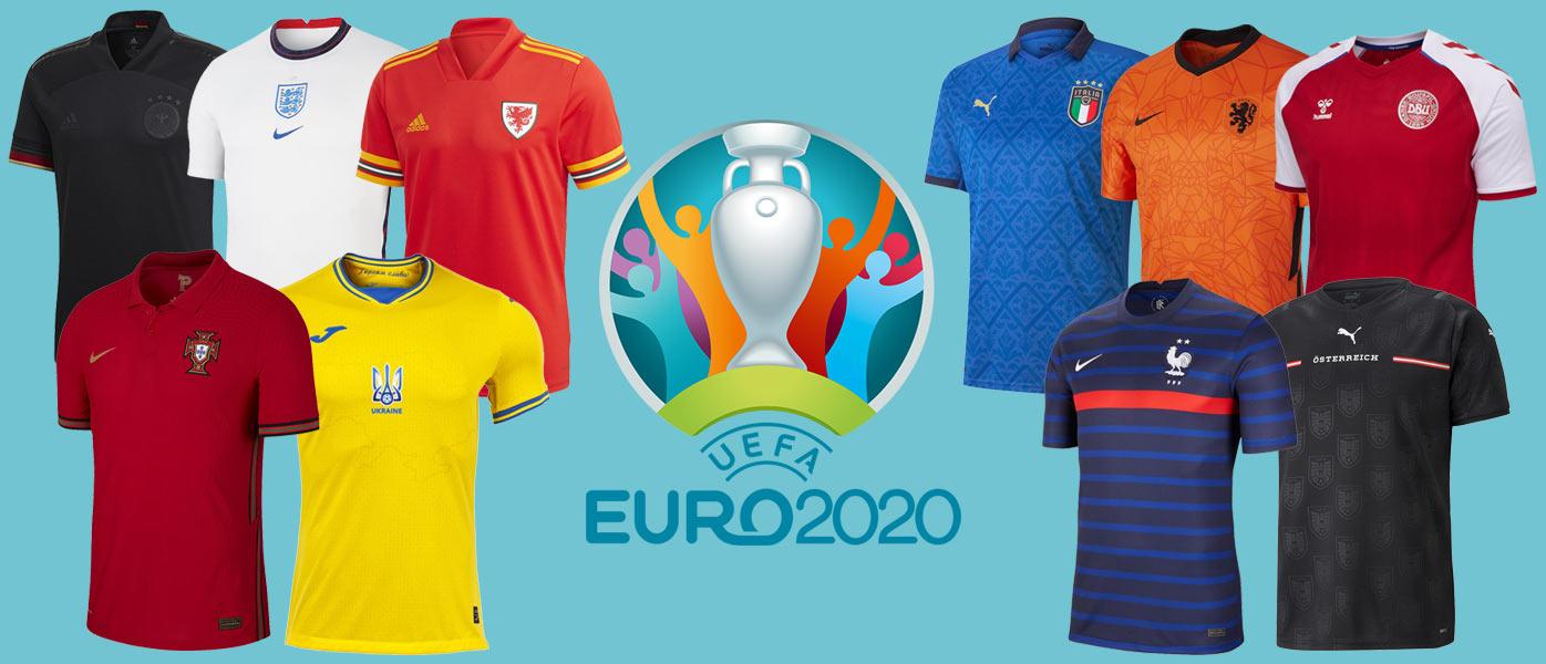 Maglie Europei 2021