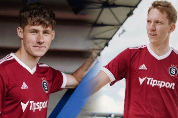 Le nuove maglie dello Sparta Praga 2021-2022