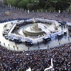 Plaza Cibeles festa Real Madrid