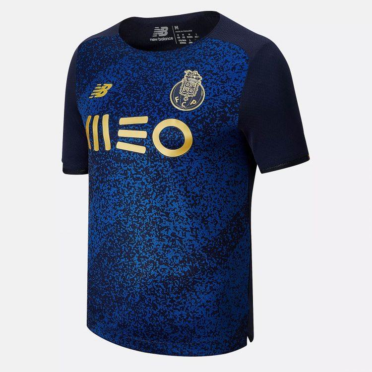 Seconda maglia Porto 2021-2022 blu