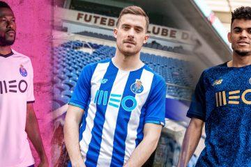Le nuove maglie del Porto 2021-2022