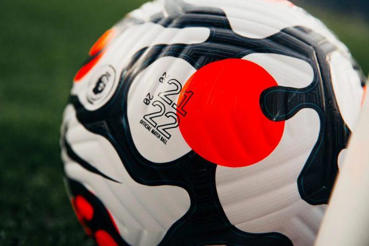 Dettaglio grafica pallone Premier League