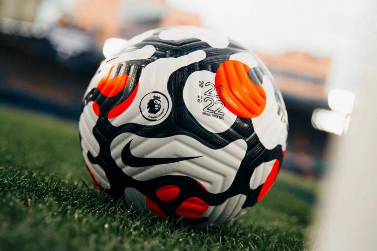 Il nuovo pallone della Premier League 2021-2022 Nike