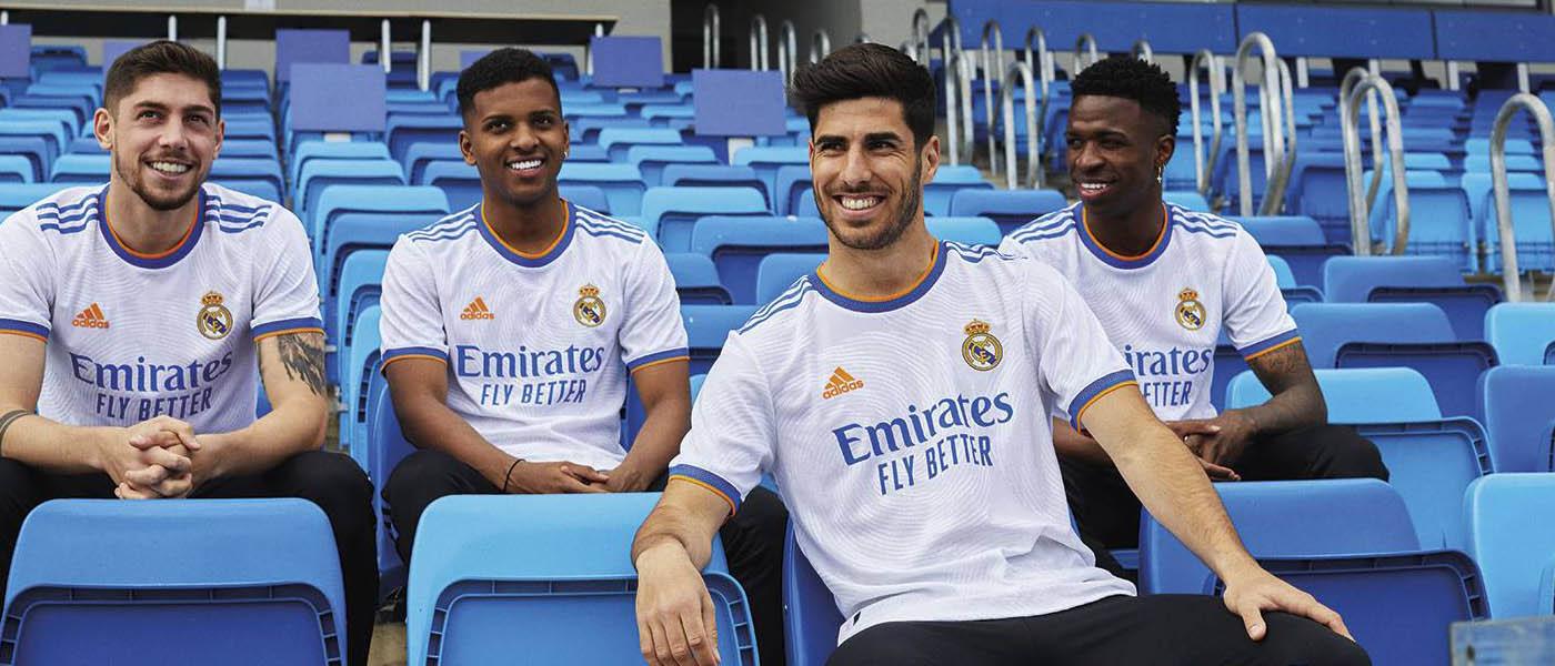 La nuova maglia del Real Madrid 2021-2022