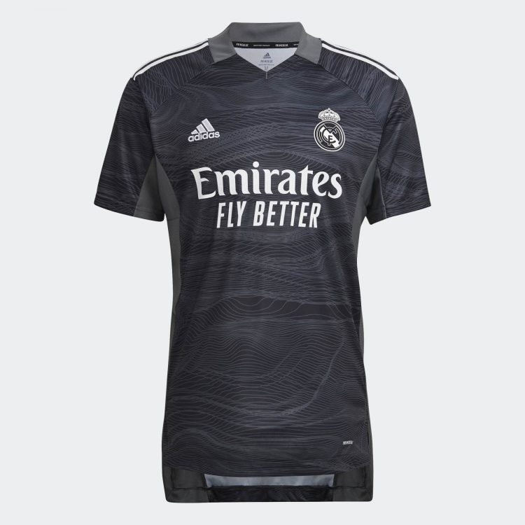 Maglia portiere Real Madrid 2021-2022 grigia