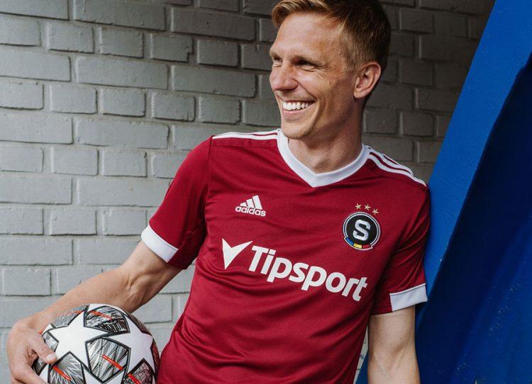 La nuova maglia dello Sparta Praga 2021-2022