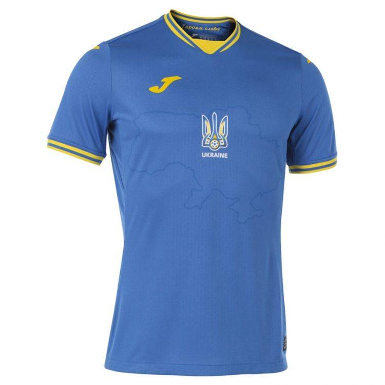 Seconda maglia Ucraina blu 2021-2022