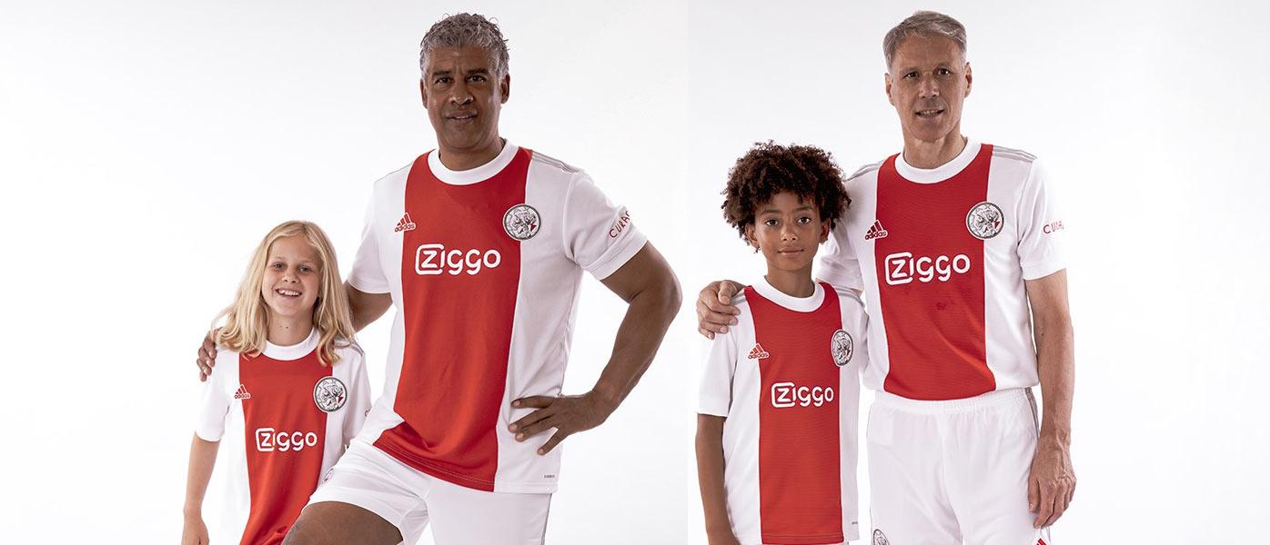 La nuova maglia dell'Ajax 2021-2022