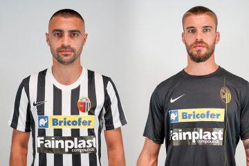 Le nuove maglie dell'Ascoli 2021-2022