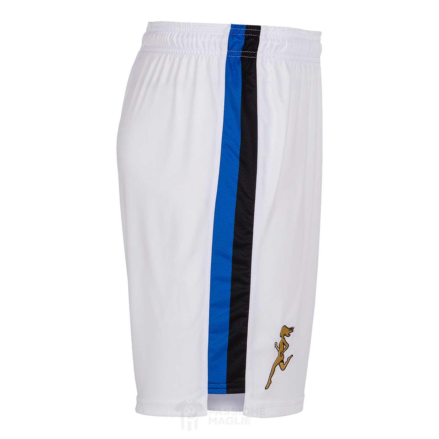 Pantaloncini Atalanta bianchi 2021-22 lato