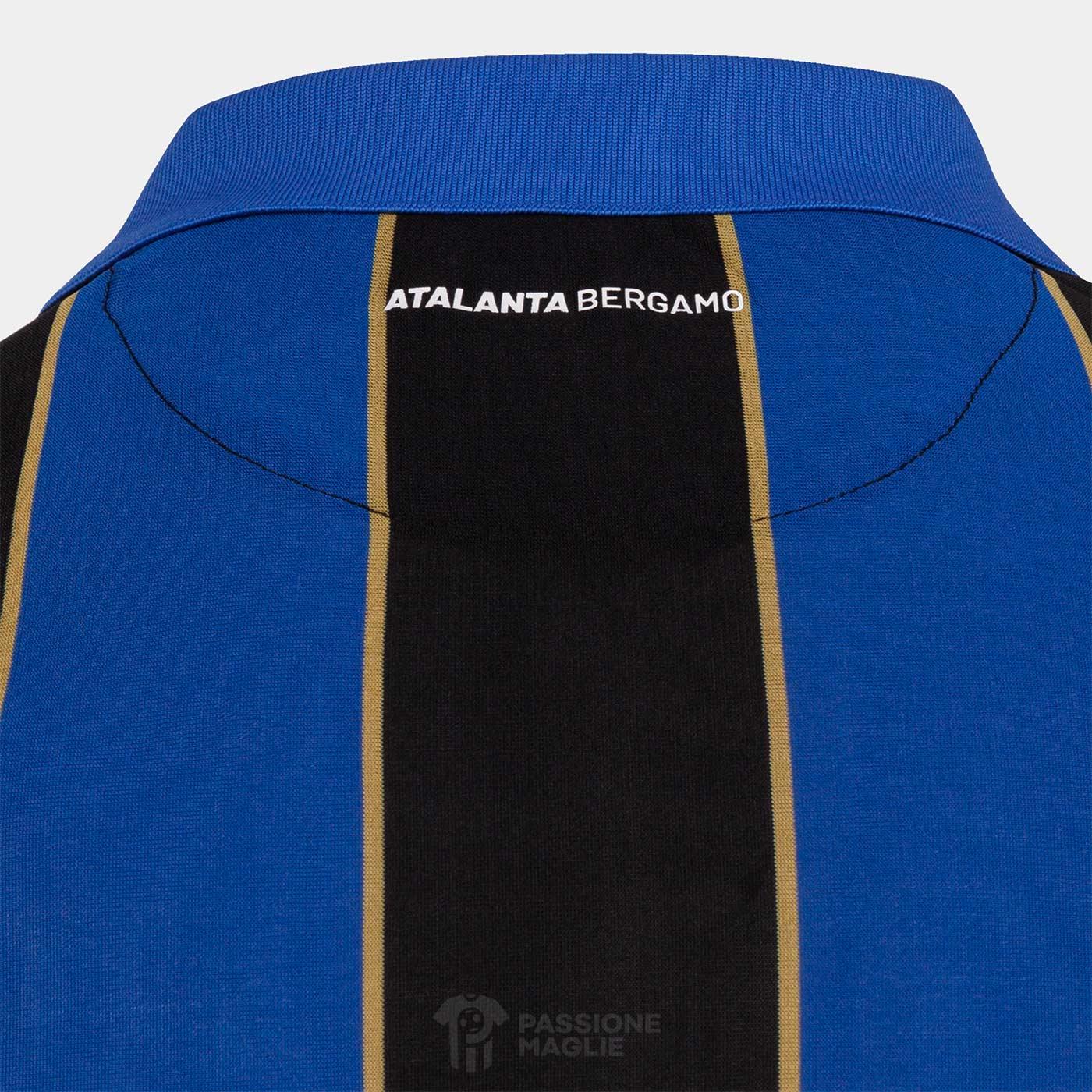 Atalanta Bergamo retro collo scritta