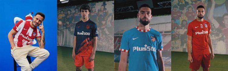 Kit Atletico Madrid 2021-2022