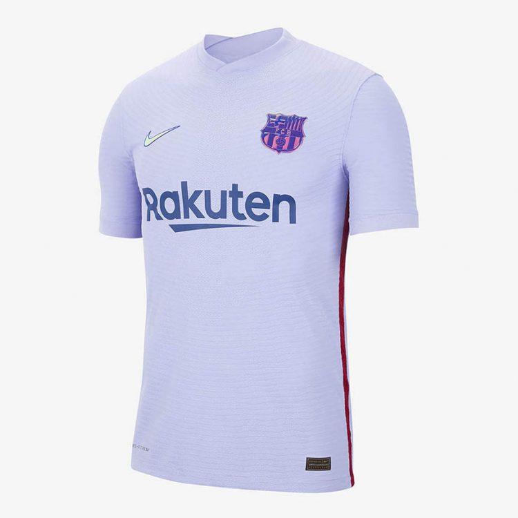 Seconda maglia Barcellona viola 2021-2022