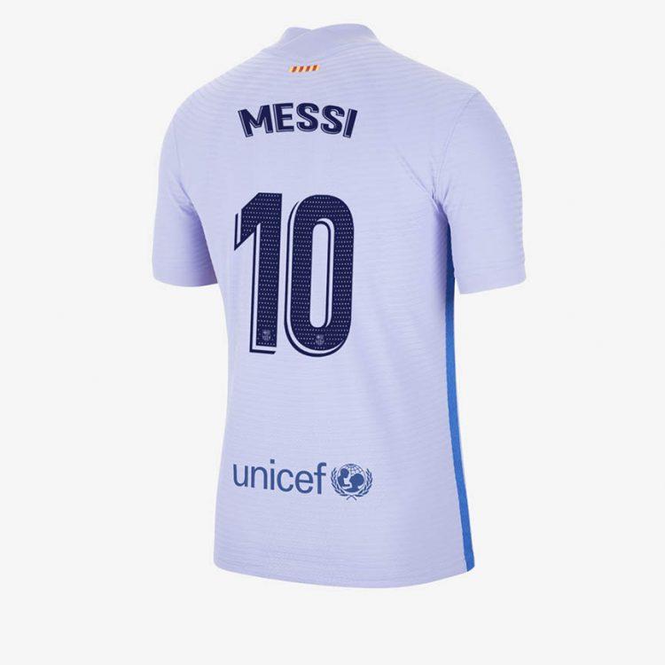 Seconda maglia Barcellona viola 2021-2022 Messi 10