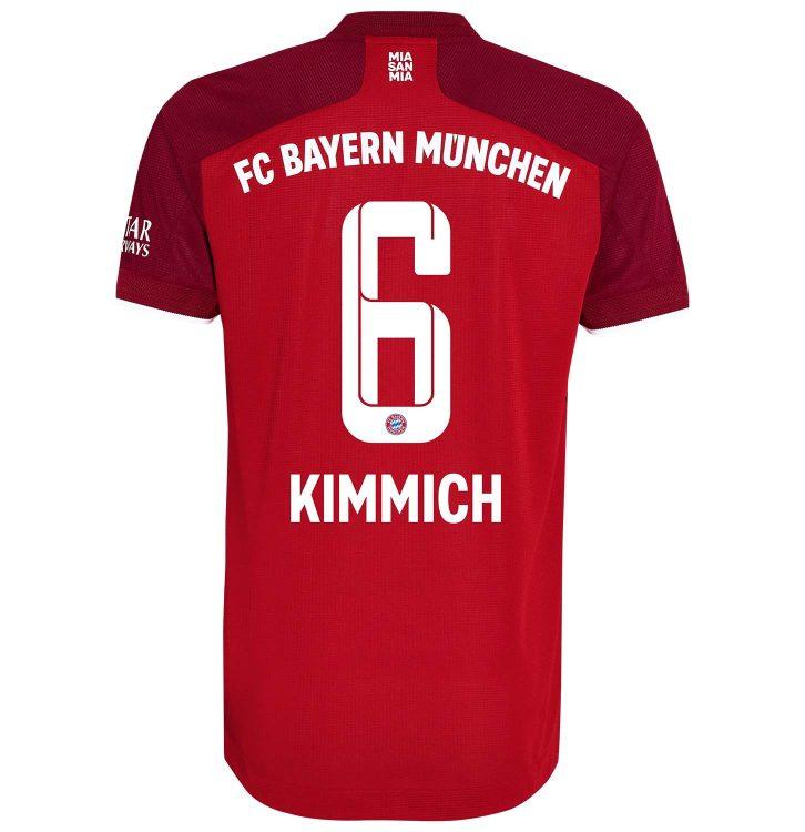Maglia Kimmich 6 Bayern Monaco