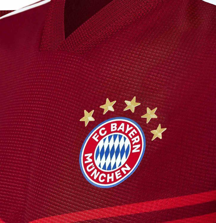 Lo stemma del Bayern Monaco con le 5 stelle