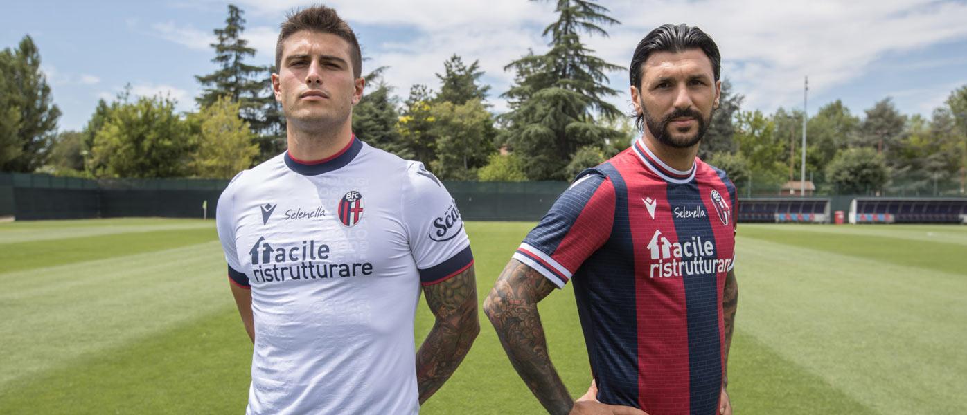 Le nuove maglie del Bologna 2021-2022