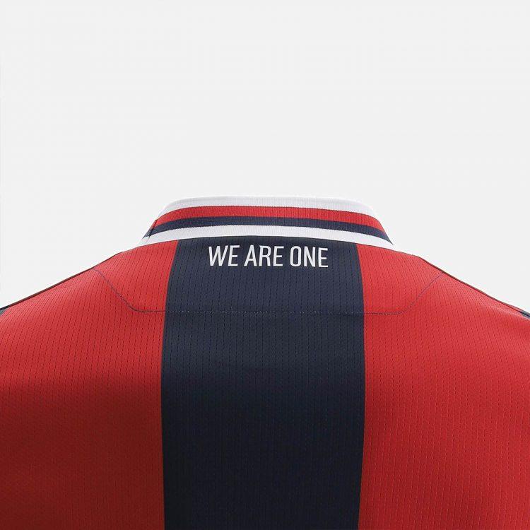 We Are One sulla maglia del Bologna