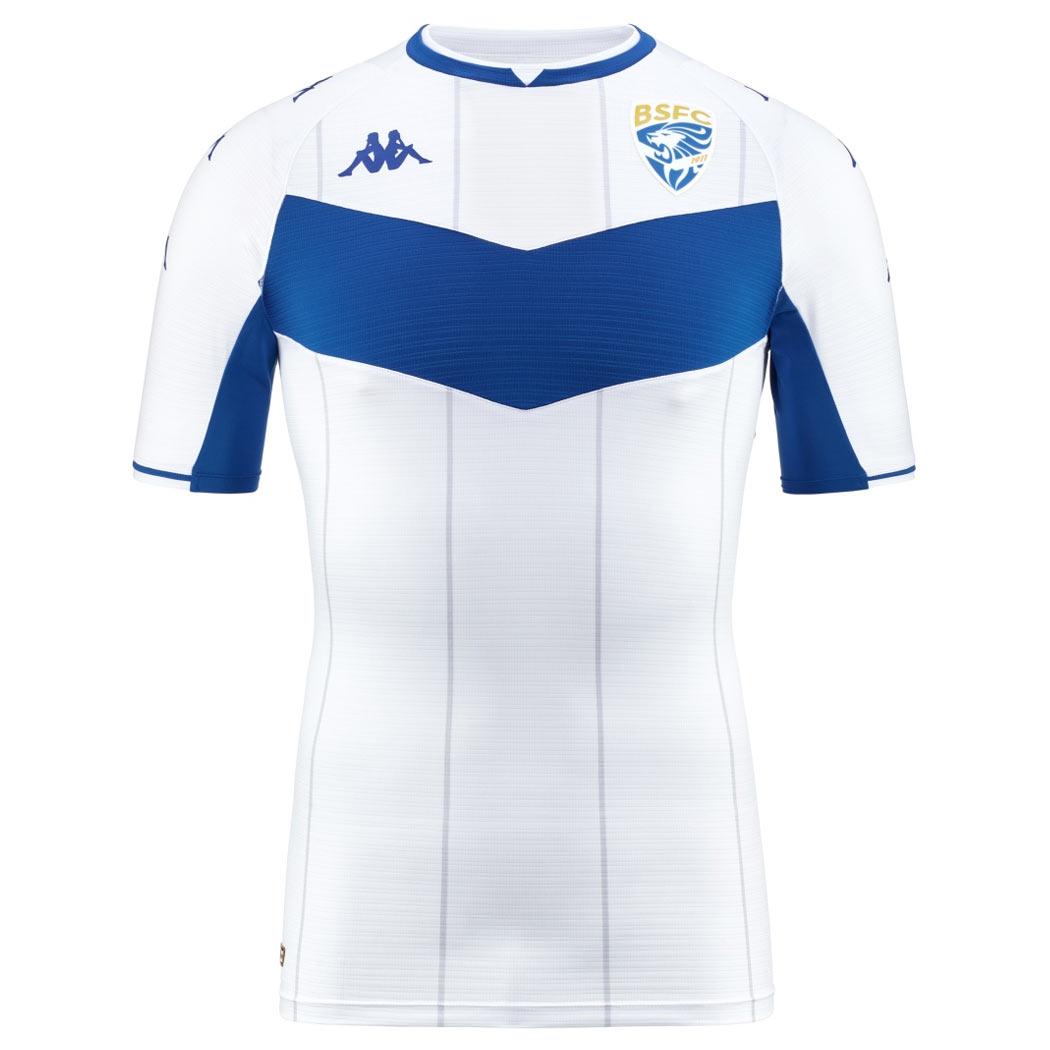 Seconda maglia Brescia bianca 2021-2022