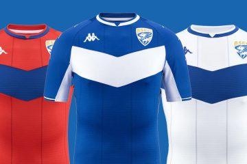 Le maglie del Brescia 2021-2022 Kappa