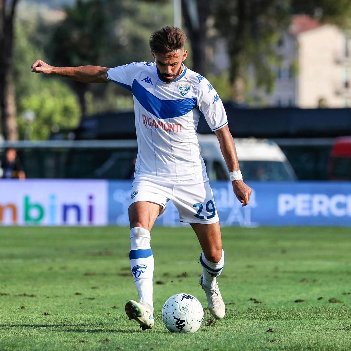 Divisa Brescia away bianca