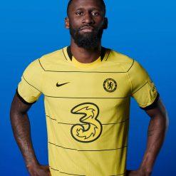 Rudiger kit Chelsea away 2021-22