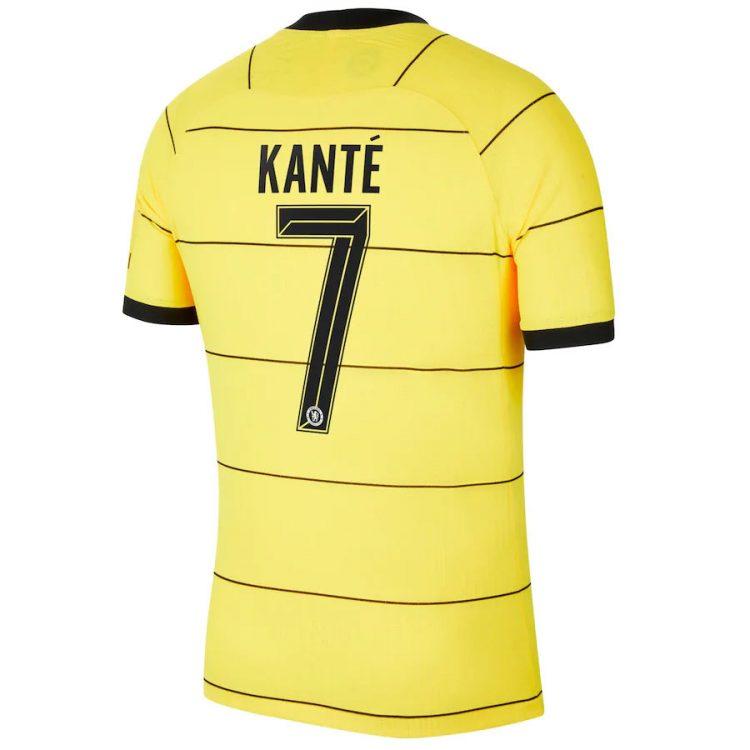 Seconda maglia Chelsea 2021-2022 Kantè 7