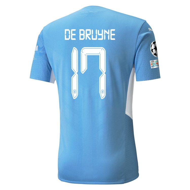 Maglia Manchester City 2021-2022 De Bruyne 17