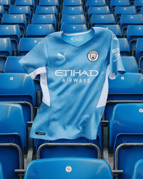 Prima maglia Manchester City Puma