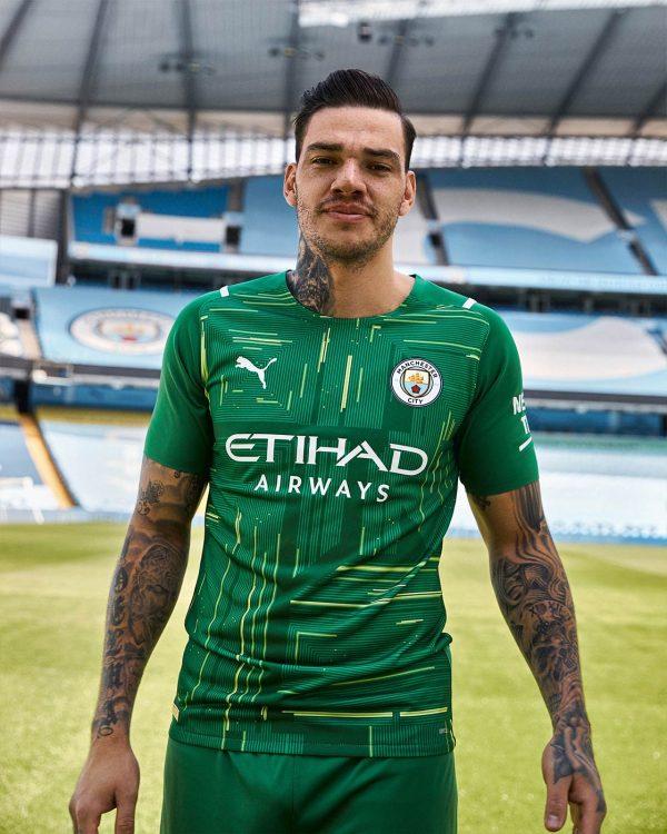 Maglia portiere verde Manchester City 2021-22
