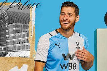 La nuova terza maglia del Crystal Palace 2021-22