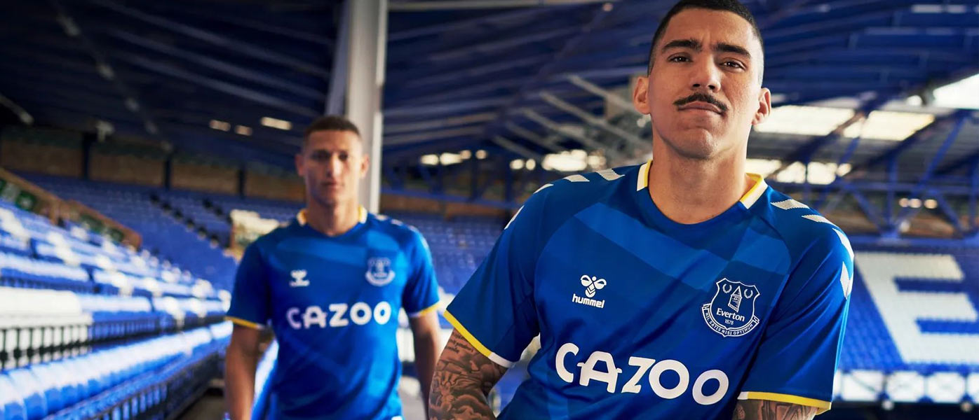 Presentazione nuova maglia Everton 2021-22