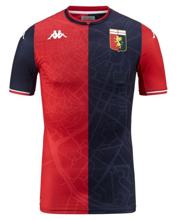 Maglia Genoa 2021-2022 home Kappa