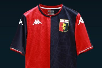 La nuova maglia del Genoa 2021-2022