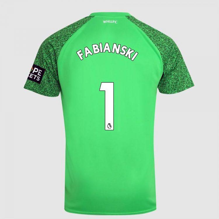 Maglia portiere West Ham - Fabianski