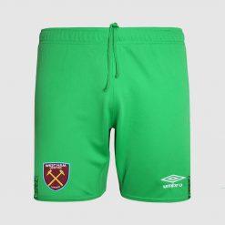 Calzoncini portiere verdi West Ham