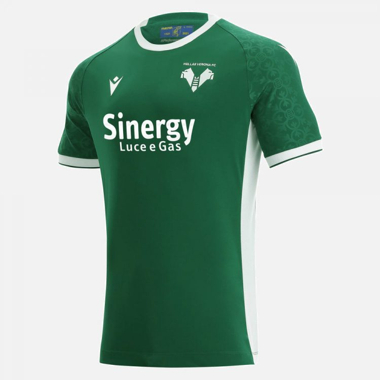 Terza maglia Verona 2021-2022 verde