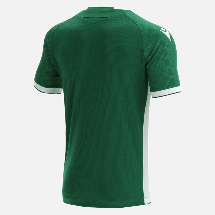 Terza maglia Verona 2021-2022 verde retro